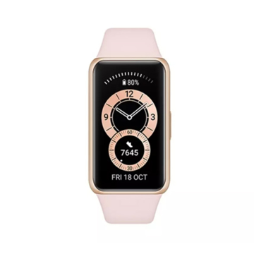 Picture of Huawei Band 6 Fitness Tracker With All Day SpO2 Monitoring -  Sakura Pink