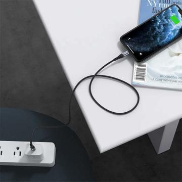الصورة: وصلة شحن و نقل بيانات iOsuit سريعة Type C- Lighting - IP0039
