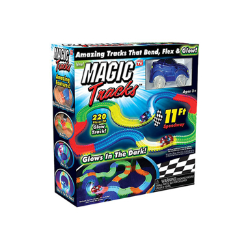 Picture of Limodo 220 Piece Flexible Race Track & 2 Light Up Cars Playset