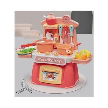 Picture of Limodo Mini Kitchen Play Set W/Light & Music Orange