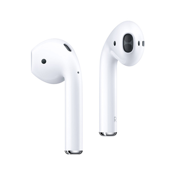 Picture of iOsuite Lite Buds Wireless Bluetooth Headset TWS with Wireless charging Case - White, Package include Silicon Black Case