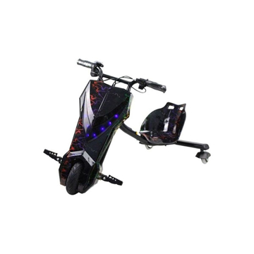 Picture of limodo 3-Wheel Drifting Electric Power Scooter - Black/Multi
