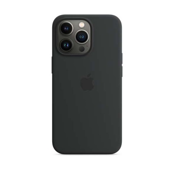 Picture of Apple iPhone 13 - 13 Pro Silicone Case with MagSafe - Midnight
